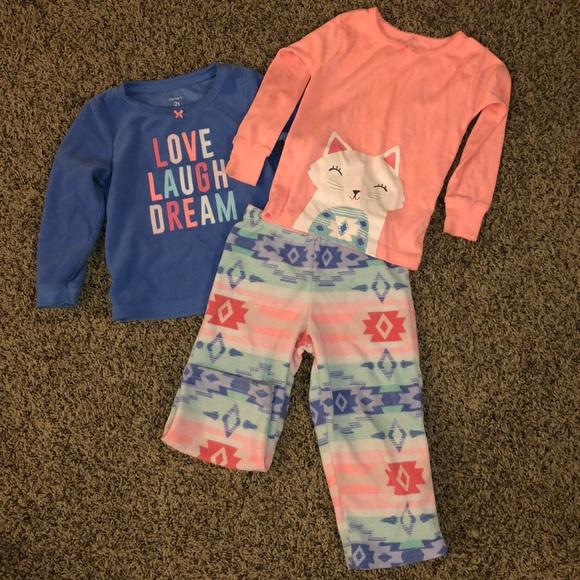 Carter's Other - Carters 3-piece pajamas